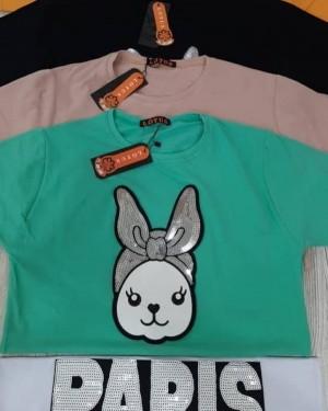 تیشرت تُرک مدل خرگوش-تصویر 2
