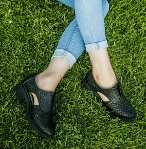 کفش پاشنه دار مدل تابستانی