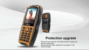 گوشی 100% ضد آب و ضد ضربه e&l مدل S200-تصویر 3