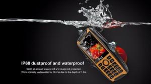 گوشی 100% ضد آب و ضد ضربه e&l مدل S200-تصویر 4