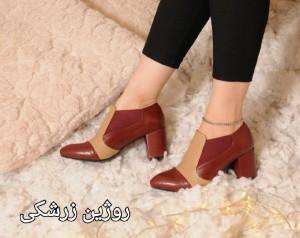 کفش پاشنه دار روژین