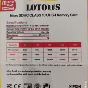 کارت حافظه LOTOUS 8G-تصویر 2