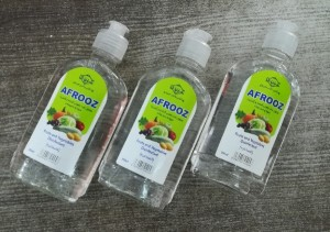 محلول ضد عفونی میوه و سبزیجات افروز 250ml-تصویر 2