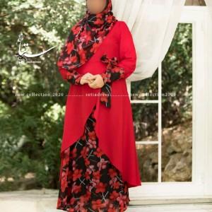 پیراهن بلند مجلسی محیا-تصویر 2