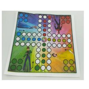 بازی فکری طرح منچ همراه با تاس چوبی-تصویر 2