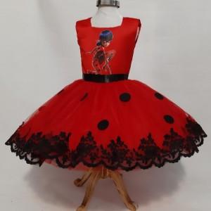 لباس دختر کفشدوزکی-تصویر 2