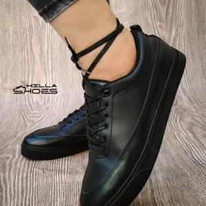 کفش کتانی ونس چرم بندی-تصویر 2