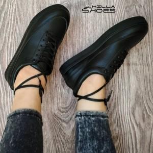 کفش کتانی ونس چرم بندی-تصویر 4