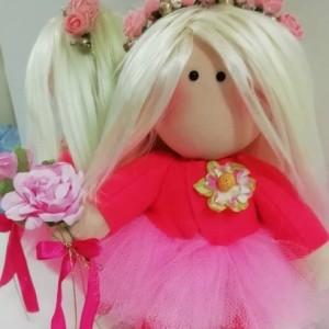 عروسک روسی مو طلایی