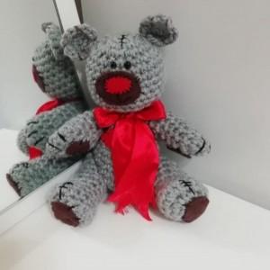 عروسک بافتنی خرس و خرگوش-تصویر 2