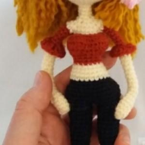 عروسک بافتنی دختر-تصویر 4