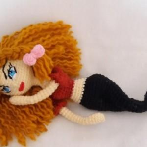 عروسک بافتنی دختر-تصویر 3