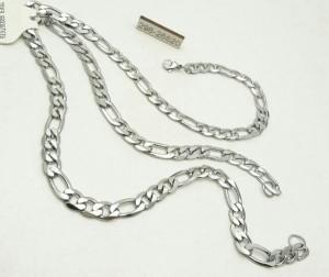 زنجیر دستبند ست استیل