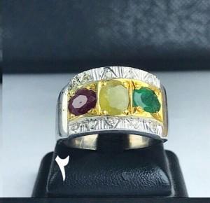 انگشتر دست ساز جواهر اصل