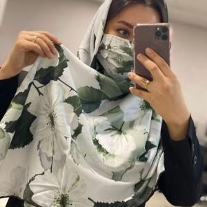 ماسک و روسری شکوفه