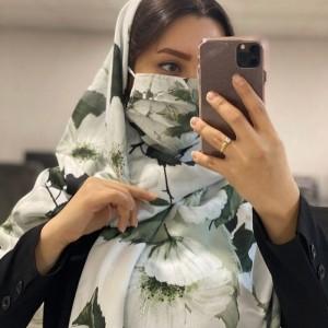 ماسک و روسری شکوفه-تصویر 2