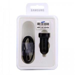 شارژر فندکی SAMSUNG FAST پکدار + کابل تایپ سی