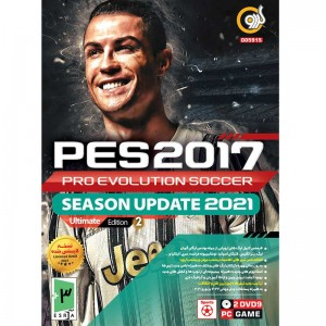PES 2017 Season Update 2021 Ultimate Edition2 PC 2DVD9 گردو