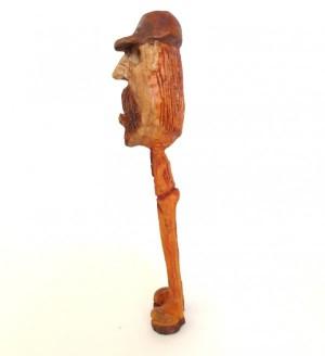 مجسمه چوبی ، آدمک چوبی ، دست سازه چوبی ، مجسمه ، آدمک ، طرح لنگ دراز-تصویر 4