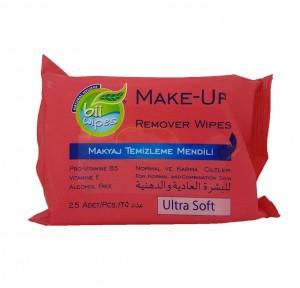 دستمال مرطوب پاک کننده آرایش بی ویپس Bi Wipes