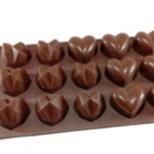 قالب شکلات طرح قلب مدل 02