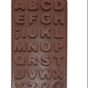 قالب شکلات طرح حروف انگلیسی مدل 01