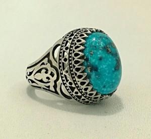 انگشتر نقره فیروزه شجری