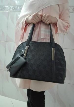 کیف زنانه مجلسی شیک رنگ سورمه ای