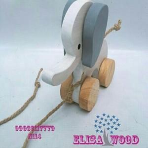 فیل چوبی N114-تصویر 5