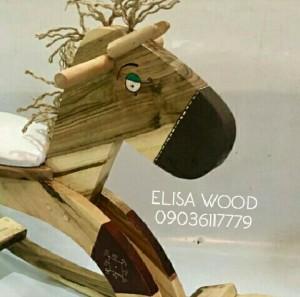 N158اسب چوبی-تصویر 5