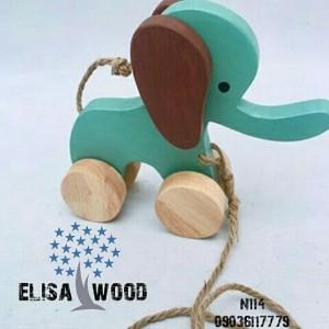 فیل چوبی N114-تصویر 4