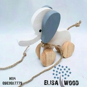 فیل چوبی N114-تصویر 2