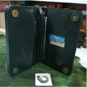 کیف پول چرم طبیعی دستی بندک دار مردانه-تصویر 5