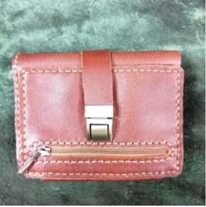 کیف پول چرم طبیعی کمری سه لت-تصویر 2