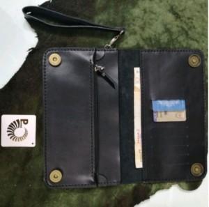کیف پول چرم طبیعی دستی بندک دار مردانه-تصویر 3