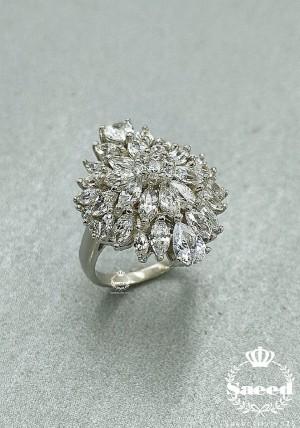 انگشتر طرح جواهر سلطنتی