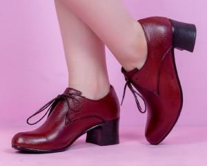 کفش چرم طبیعی ارسال رایگان