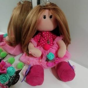 عروسک روسی صورتی-تصویر 5