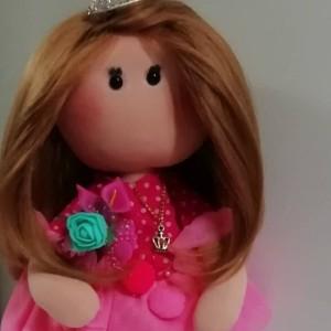 عروسک روسی صورتی-تصویر 4