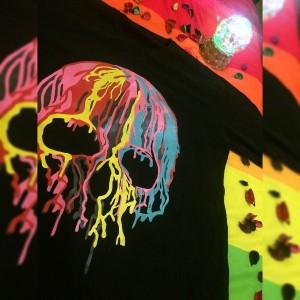 تیشرت اسکلت رنگی-تصویر 2