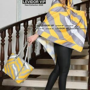 ست کیف روسری زرد
