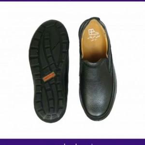 کفش مدل آراز مردانه تمام چرم-تصویر 2