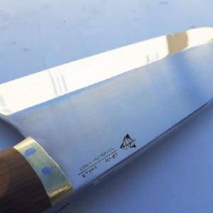 چاپر نایف، چاقو(ساطور) تمام استیل، زنگ نزن و یک تکه، محصول الماس زنجان-تصویر 5