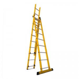 نردبان 3 تکه 28 پله مدل الگانت