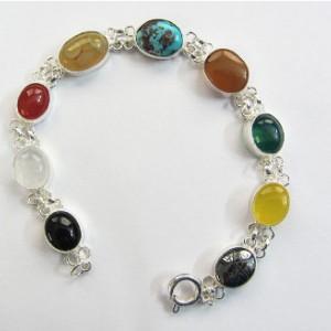 دستبند نقره جواهرسیتی کد OP104-تصویر 3