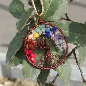 گردنبند و رومانتویی درخت زندگی