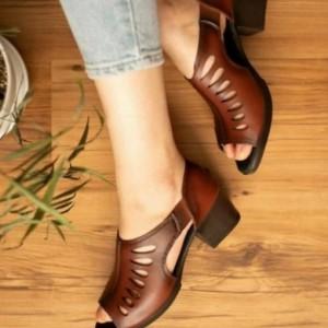 کفش تابستانی طبی رویه اشکی بغل کشی-تصویر 3
