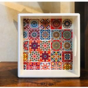 سینی چوبی مربع-تصویر 2