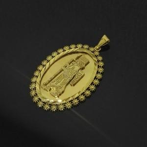 پلاک آویز کپی طرح طلا