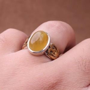 انگشتر یاقوت زرد اصل-تصویر 2